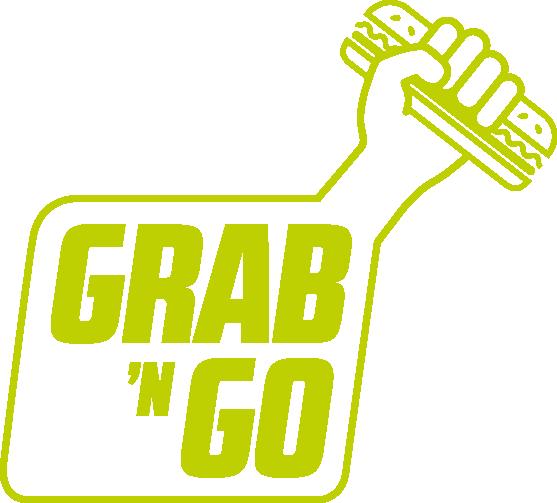 GRAB´N GO logo, mad, universiteter
